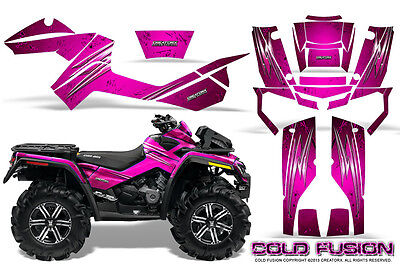 Can-Am Outlander Xmr 500 650 800R Graphics Kit Creatorx Decals Stickers Cfp