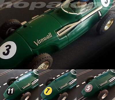Scalextric/Slot Car Vintage Style Race Number Sticker Decals (16mm)