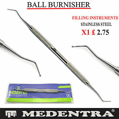Medentra Ball Burnisher Composite Filling Instruments Restorative Tools Dental