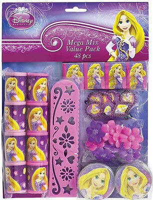 TANGLED SPARKLE ~48pc Mega Mix Party Favor Pack (am)~Princess Birthday Supplies