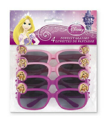 Disney Princess TANGLED ~ (4) Novelty Glasses ~ Birthday Party Supplies Favors