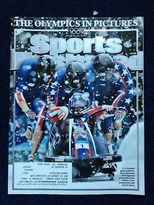 Sports Illustrated M March 10 2010 Olympics In Pictures. Usa Bobsled Team