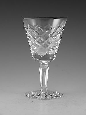 """WATERFORD Crystal - TYRONE Cut - Port Wine Glass / Glasses - 4 1/2"""""""