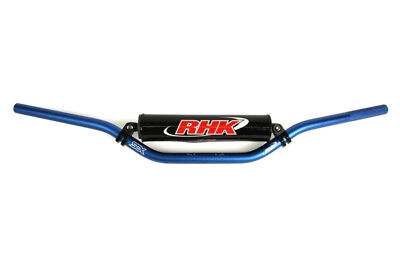 RHK Mx Motocross Dirtbike Offroad Outdoor 7/8 Handlebars Blue Handle Bars