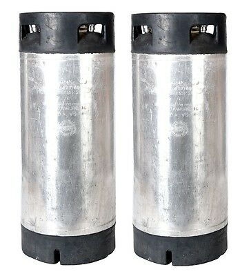 Perfect for Homebrew Tap Beer - 2 PACK 5 Gallon Pin Lock Kegs Reconditioned