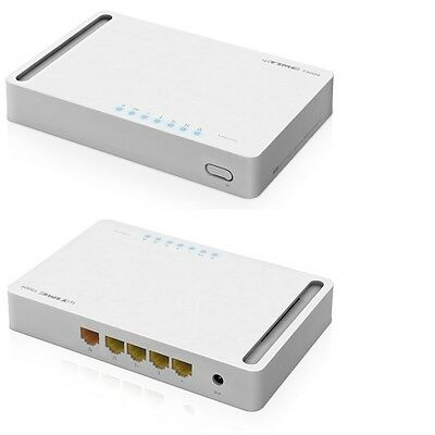 ipTIME T3004 Wired router / 4 port (Gigabit) / Memory: 64M / smart poneopeul