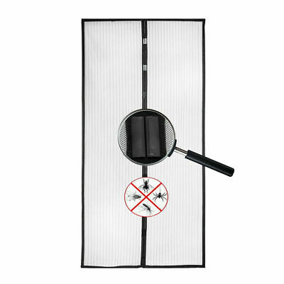 New Magic Mesh Hands-Free Screen Door with magnets AS SEEN ON TV anti bug in BOX