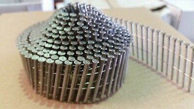 16 Degree Conical Wire Collated Coil Nails. Stainless Steel. 32mm - 50mm