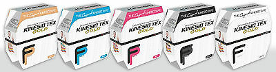 AUTHENTIC KINESIO TEX GOLD FP TAPE BULK 2in x 34yds KINESIOLOGY TAPE ALL COLORS