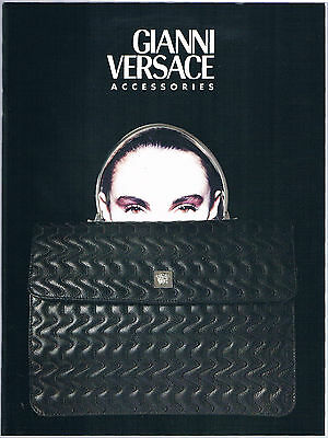 Gianni Versace Accessories 1997 Catalog - New, Beautiful!!!
