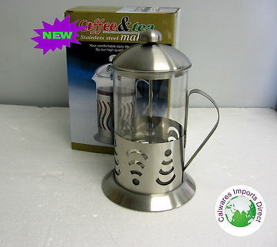 NEW Stainless Steel Coffee Plunger 800mL  Coffee Maker