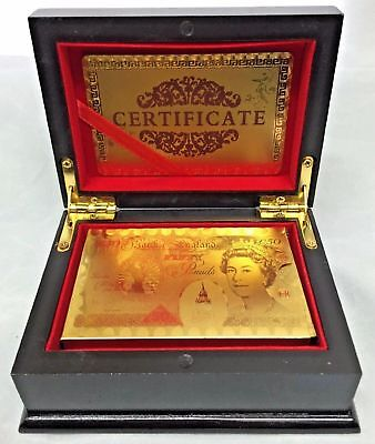 New Gold Plated US Dollar EURO Playing Cards Game Poker Deck UK STOCK FAST POST