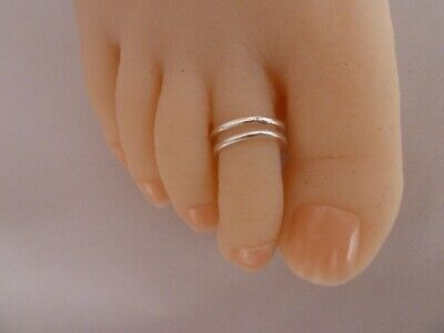 925 Sterling Silver (plated) Toe Ring, ALLERGY FREE, Buy 2, Get the 3rd Free!!!