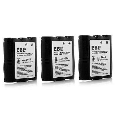 3x 1200mAh Battery For Motorola HNN9056 HNN9056a HNN9044A SP10 SP21 SP50 PRO1150