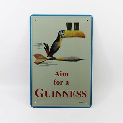 Tin Sign Beer Sign Poster Bar Decor-Aim for a Guinness Y020