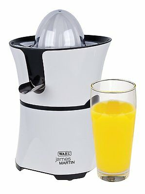 New Wahl James Martin 60W Citrus Juicer White ZX834