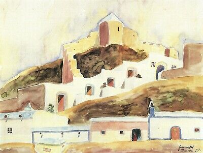 Almeria I by Walter Gramatte Giclee Fine Art Print Repro on Canvas