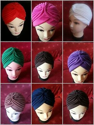 TURBAN STYLE,Head Wrap,,Hat,Bandana,Scarf,Hair Loss,Indian,Vintage