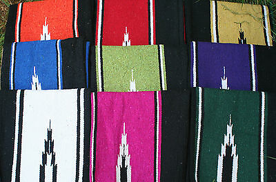Horse saddle blanket Navajo design many colors to choose from
