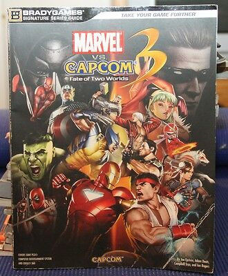 Marvel vs. Capcom 3 - Fate of Two Worlds - Official Strategy Guide - Bradygames