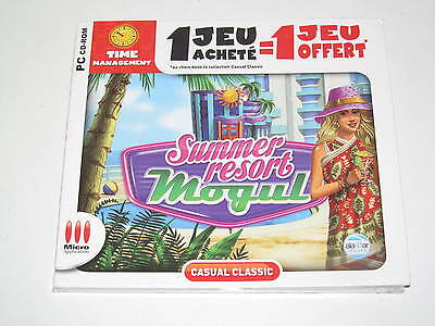 Jeux PC Micro Applications Summer Resort Management NEUF