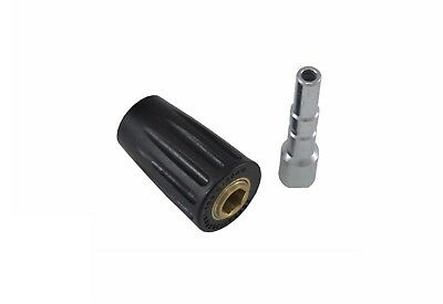 Pressure Washer Jet Wash Kew Snap Quick Release Coupling Pair