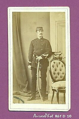 CDV SOLDAT MILITAIRE SECOND EMPIRE Réf D 10
