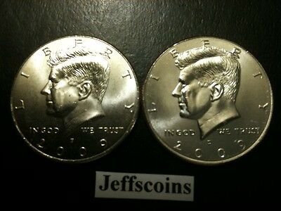 2009 P&D Kennedy Half Dollar Set GEM BU From MINT ROLL Clad No Silver 50 Cent