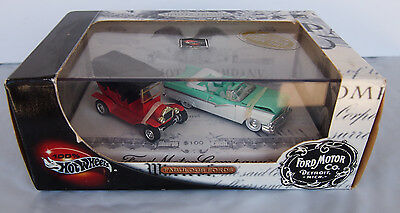2002 Hot Wheels Fabulous Fords Limited Edition 2 Car Set 100% Hot Wheels