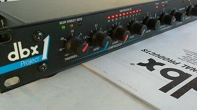 DBX Project 1 Compressor Expander Noise Reduction System Rack Mount