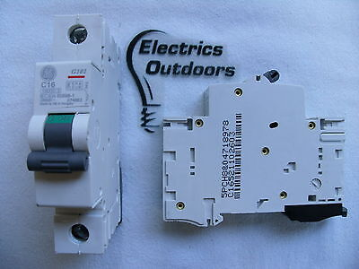 GENERAL ELECTRIC 16 AMP TYPE C 10 kA MCB CIRCUIT BREAKER G101 674863 BS EN 60898