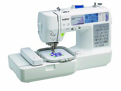 Brother SE400 SE 400 Embroidery & Sewing Machine Combo+USB+25yr Limited Warranty