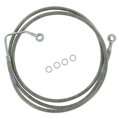 Front Stainless Upper Brake Line 2008 Harley-Davidson Road King with ABS