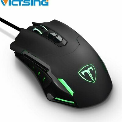 2400 DPI Computer 7 Button Wireless Gaming Mouse LED Optical Game Mice Pro Gamer