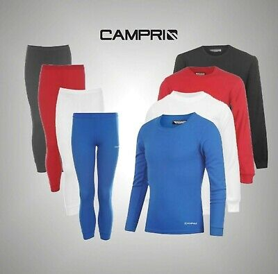 Kids Campri Thermal Pants Ski Baselayer Shirt Top Long Sleeve Girls Boys 2-6 Yrs