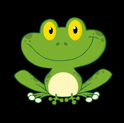 Cute Funny Frog - Set Of 4 Fun Coasters - Gift/ Present - Brand New