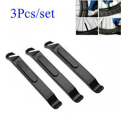 3 PCS Bicycle Cycling Tire Tyre Lever Bike Opener Breaker Repair Tool Kits Set