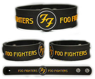 FOO FIGHTERS Rubber Bracelet Wristband    Wasting Light