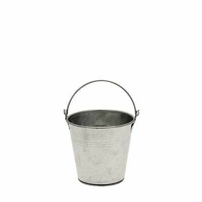 Galvanized Steel Bucket 10cm Table Tidy,Weddings,Parties,Events.Plant Cover.