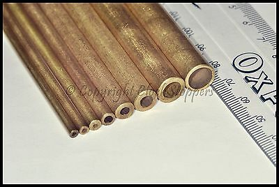 8 Hollow Brass Pivot Bushing Wire Bushes Grandfather Wall Mantle Clocks Repair