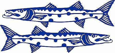 Barracuda Stickers 2 x 575 x 145 Quality Stickers made for the outdoors