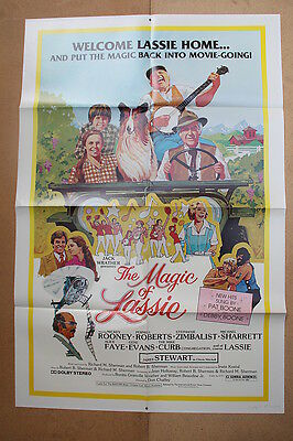 THE MAGIC OF LASSIE '78 Original OS Movie Poster