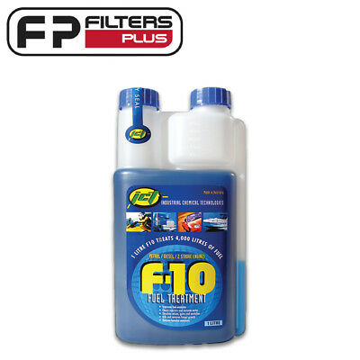 1 Litres F10 Fuel Treatment - Treats 4,000L of Fuel- Diesel, Petrol, Two Stroke