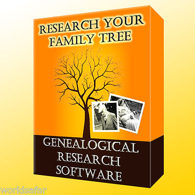 Research your Family Tree! VALUE GENEALOGY SOFTWARE for Windows