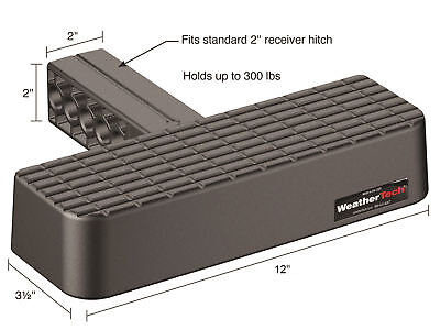 "WeatherTech® BumpStep® - 2""  Receiver  Hitch Step Bumper Protection-Trucks/Suvs"