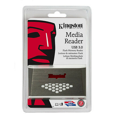 Kingston FCR-HS3 USB 3.0 Compact Flash Micro SDHC Pro Duo Memory Card Reader