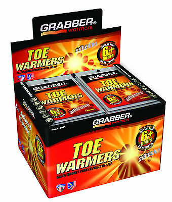 80 Grabber 40 Pairs 6 + Hours Adhesive Toe Warmers