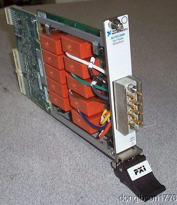 National Instruments:  PXI-2585  10-Channel, 12 A Multiplexer Switch Module