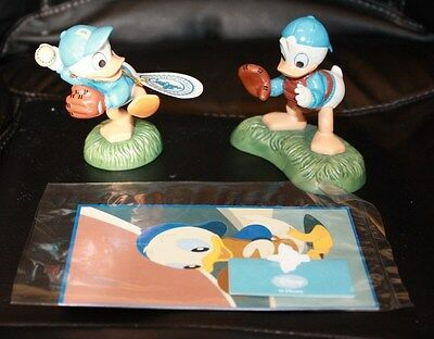 Disney Impressions Enesco HUEY LOUIE Catching the Perfect Pitch MICKEY & FRIENDS