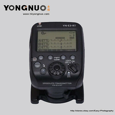 YongNuo Speedlite Wireless Transmitter YN-E3-RT for Canon Cameras AS ST-E3-RT